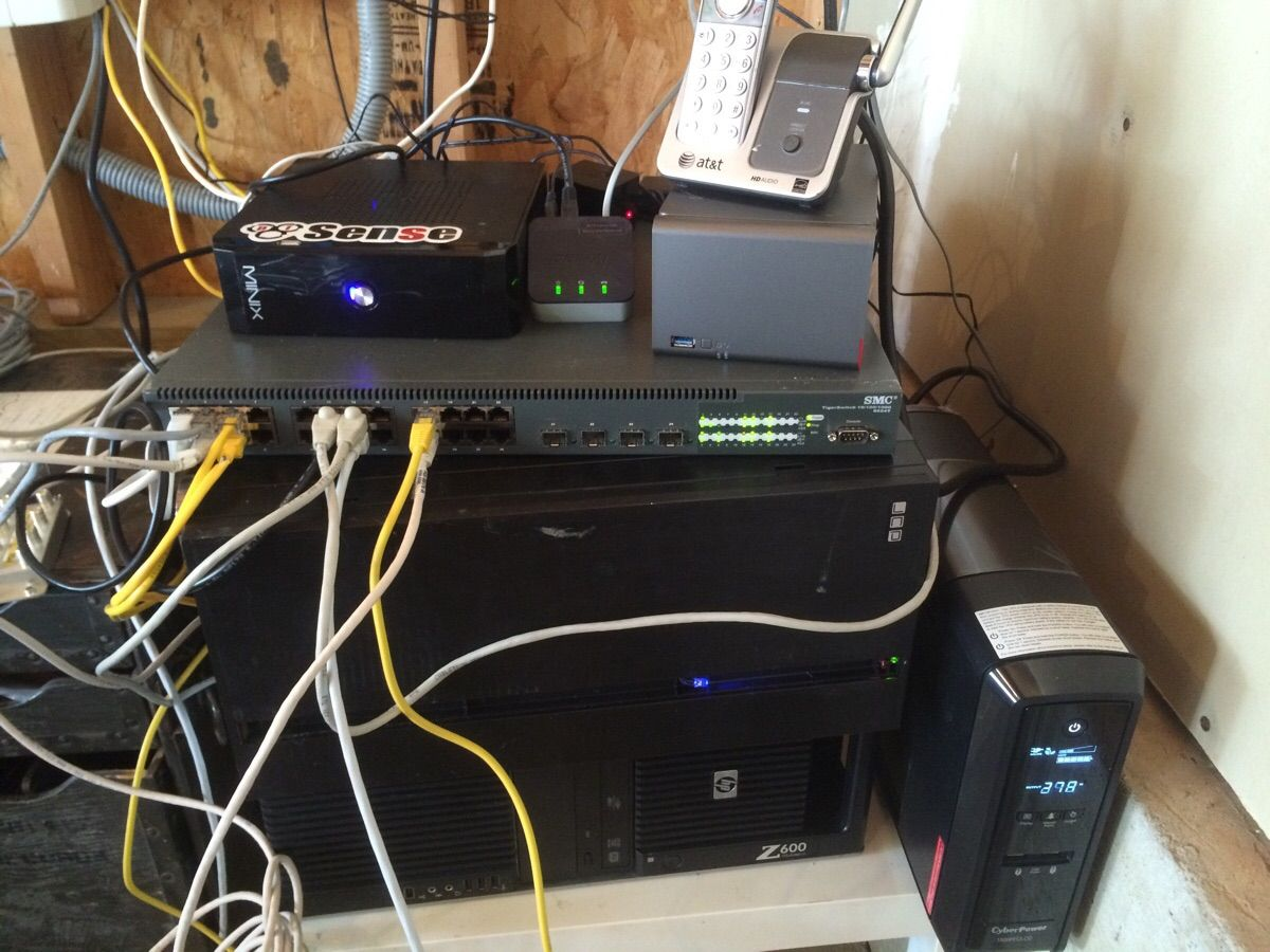 my pos homelab google voice and boxes boxes