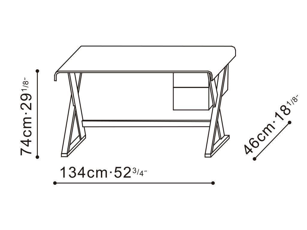 Lazzoni Furniture U2014 Beta Oak Desk