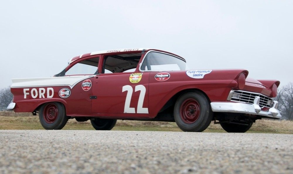 Fireball Roberts 1957 Ford headed to auction | NASCAR, Ford and Cars