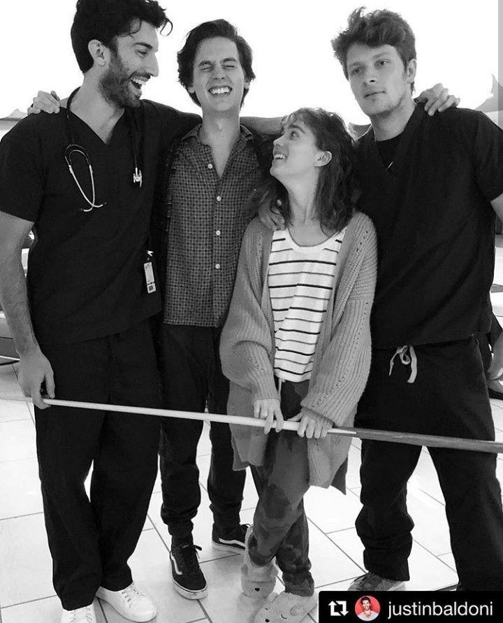 Five Feet Apart Movie Justin Baldoni Cole Sprouse