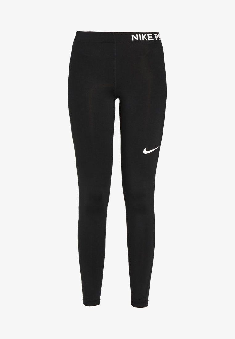 82582da9 PRO - Tights - black/white in 2019   Outfits   Nike tøj, Sportstøj ...