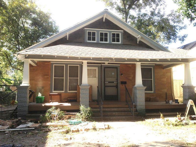 1920 Craftsman Rehab in Houston Heights Historic