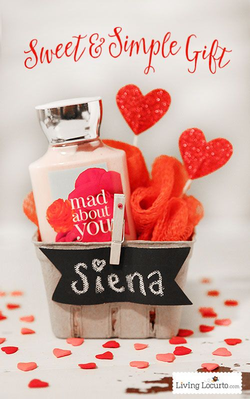 A Sweet And Simple Diy Gift Idea And Packaging For Valentine S Day