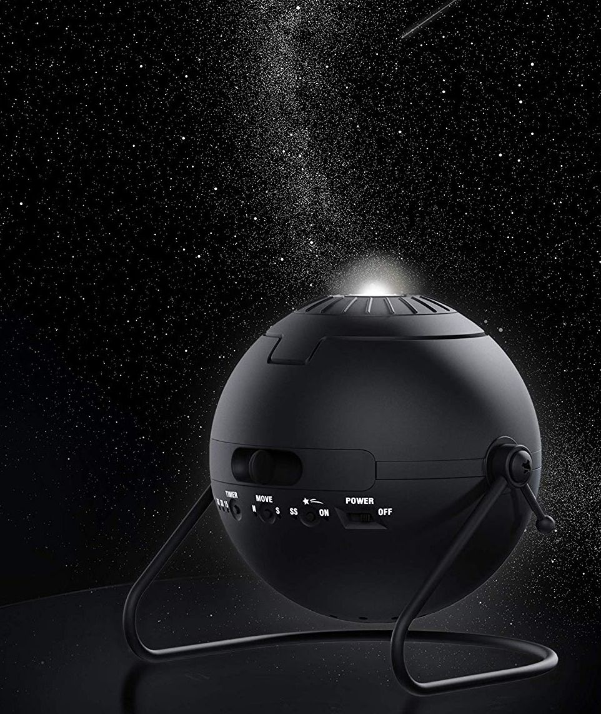 Homestar Flux (Satin Black) Home Planetarium Star Projector | Planetarium, Star projector, Black house