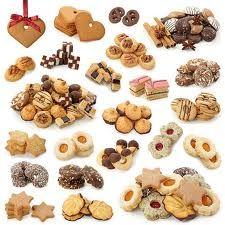 German Christmas cookies (wide variety)