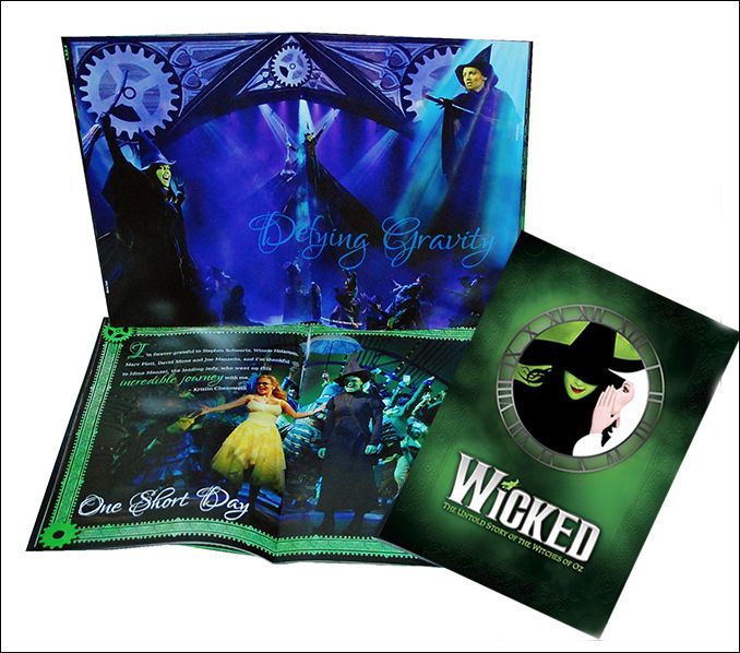 Wicked the Broadway Musical - 10th Anniversary Souvenir Program