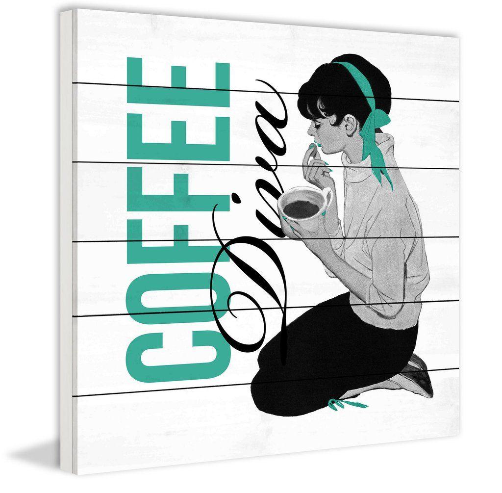 Coffee Diva 2 | White wood and Coffee