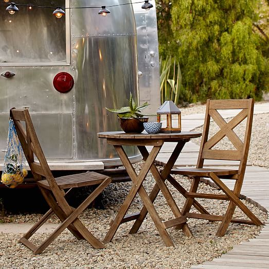 West Elm Small Patio Furniture