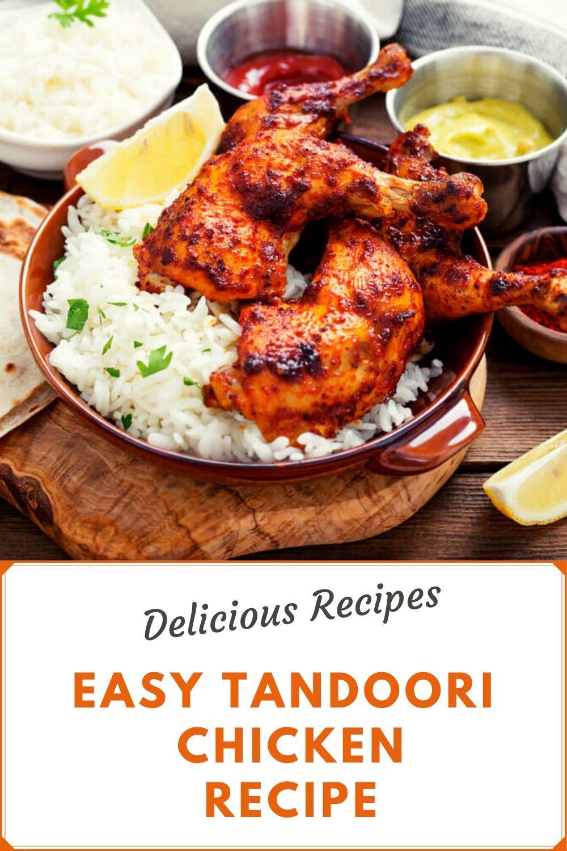 Tandoori Chicken In 2020 Tandoori Chicken Easy Tandoori Chicken Recipe Grilled Tandoori Chicken Recipe