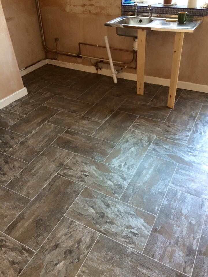 Charming 12 Inch By 12 Inch Ceiling Tiles Tiny 12X12 Tiles For Kitchen Backsplash Flat 2 X 12 Ceramic Tile 2X2 Ceramic Tile Young 3X6 Marble Subway Tile Green3X6 White Subway Tile Lowes Polyflor Camaro Ocean Slate Fitted In A Herringbone Pattern With ..