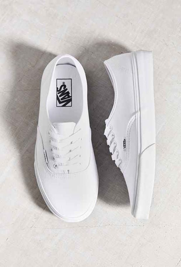 orly white canvas sneakers
