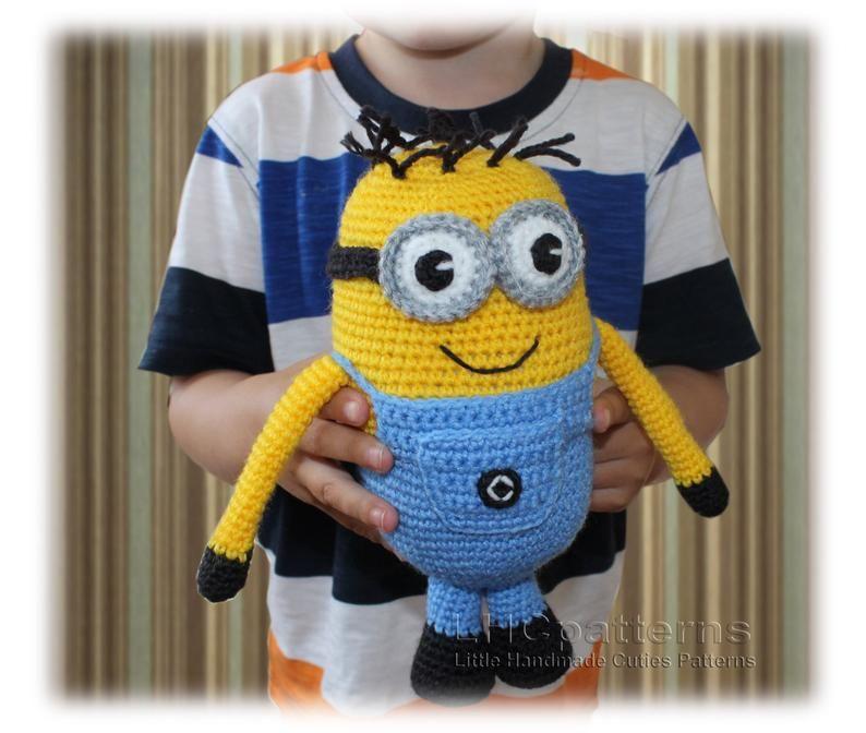 Minion Crochet Pattern, Amigurumi Minion Pattern