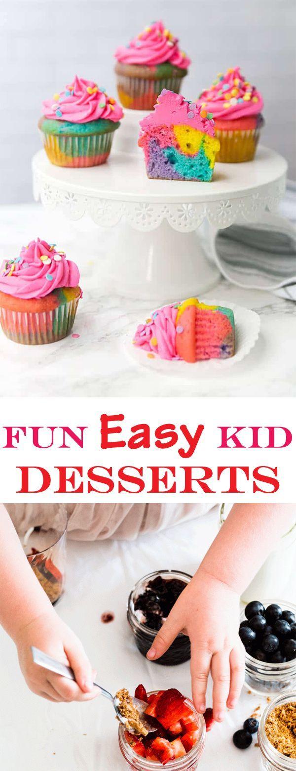 17 best desserts For Kids ideas