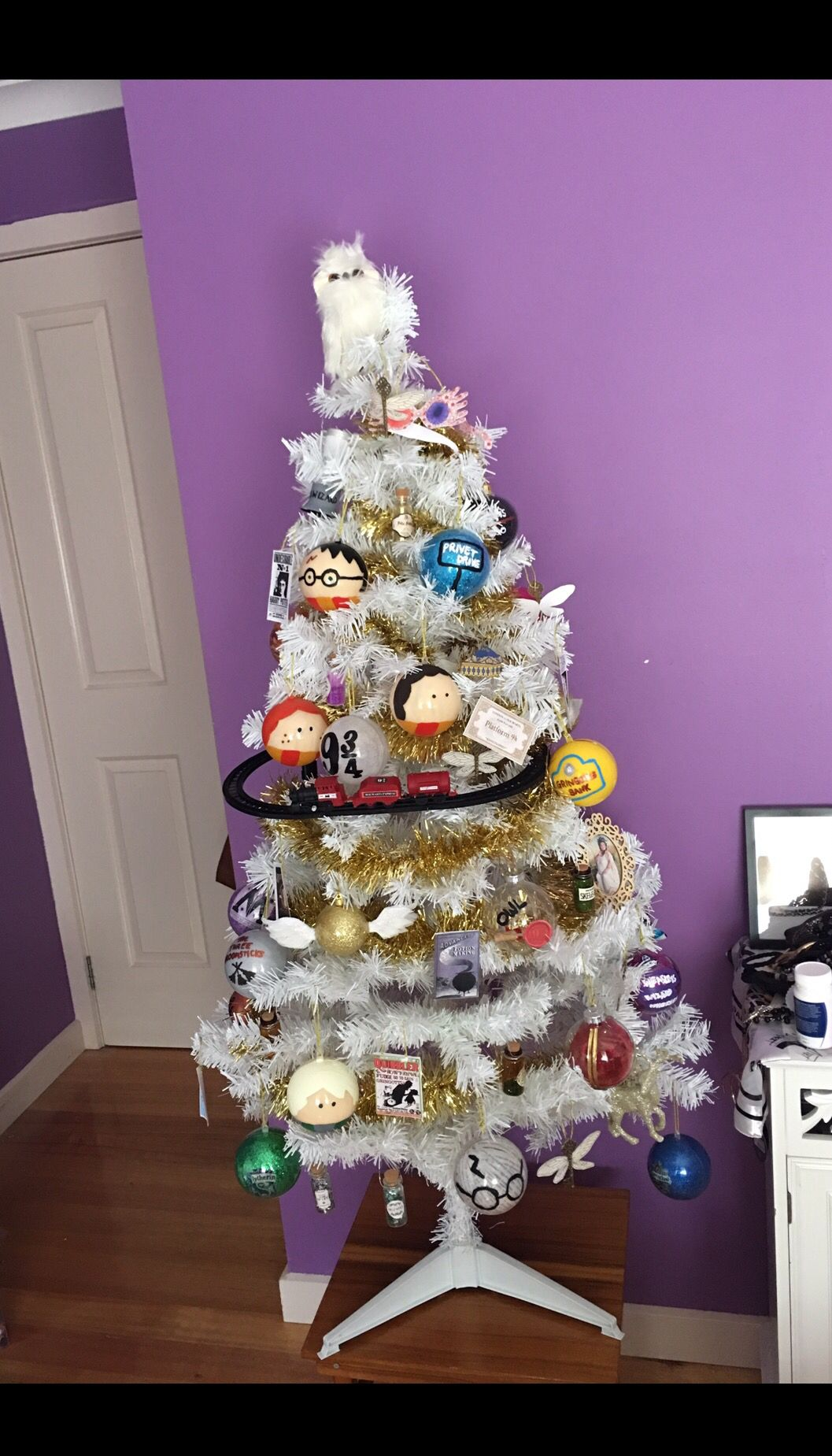 My Complete And Finished Harry Potter Christmas Tree With