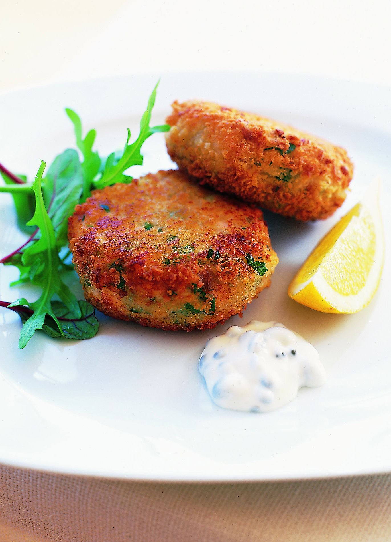Food Simple Fish Cakes