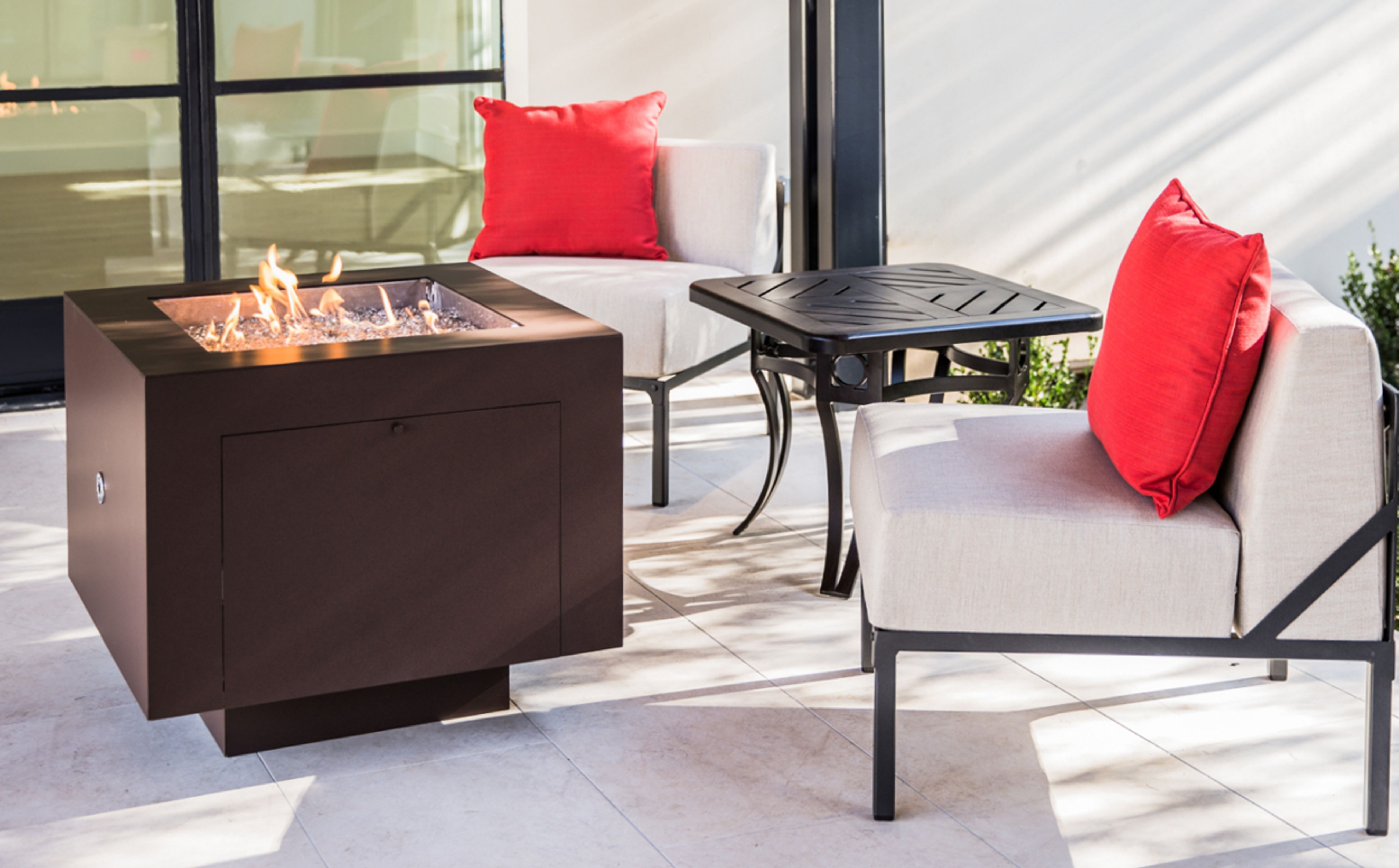 Faux Rust Powder Coated Fire Pit A Standard 20 Lbs Propane Tank Fit Inside This Fire Pit Five Standard Colors Custom Fire Pit Gas Firepit Modern Fire Pit