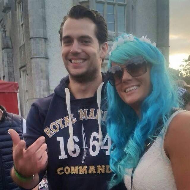 Laura Dicker e Henry ontem no Groove Festival 2015
