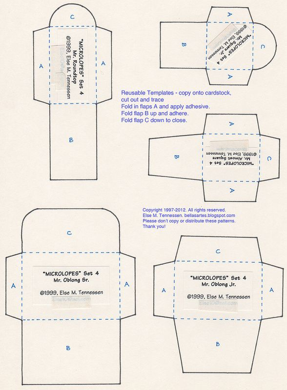 Free Mini Envelope Template For You Bricolage Et Loisirs Creatifs Pliage Papier Scrapbooking Technique