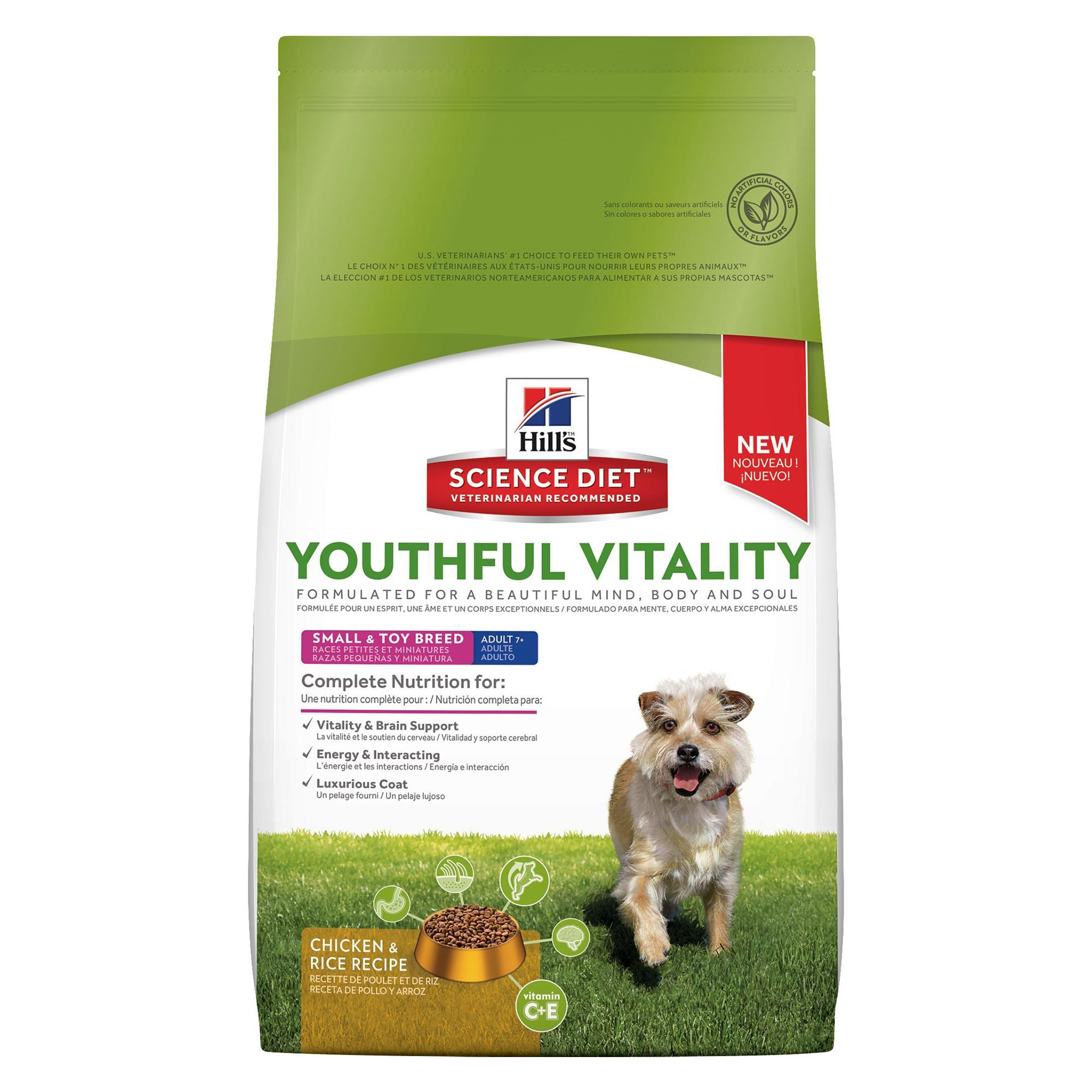 Hill S Science Diet Youthful Vitality Small And Mini Adult 7 Dog