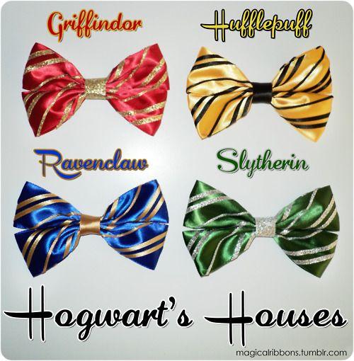 Magical Ribbons- Hogwart's Houses (Non Disney)