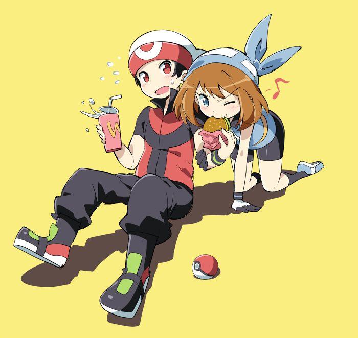 Pokemon May And Brendan