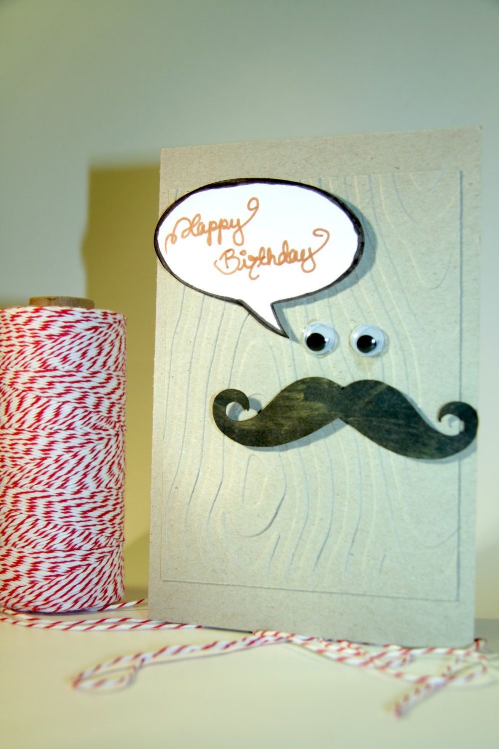 happy birthday mustache birthday card by. Black Bedroom Furniture Sets. Home Design Ideas