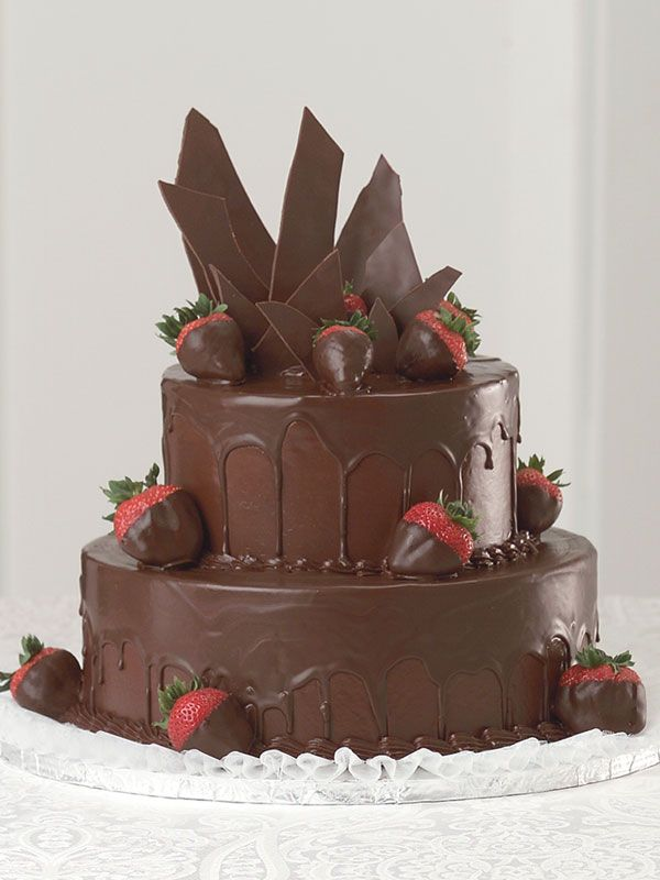 Can We Have Chocolate Hunks As Mountain Peaks On Our Cake