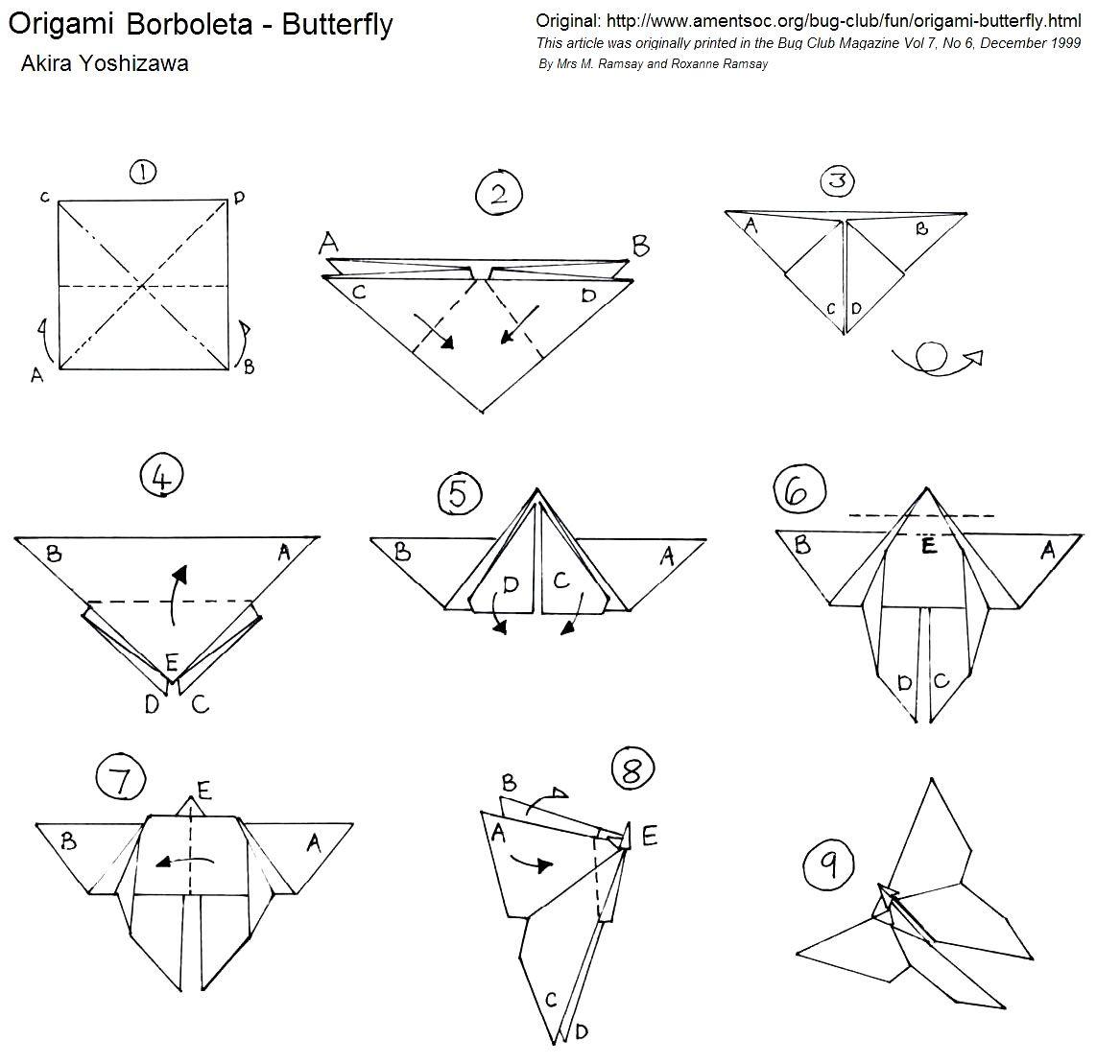origami com a letra a passo a passo