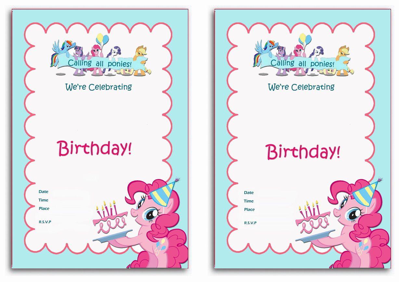 Charming printable my little pony birthday invitations photos stunning printable my little pony birthday invitations ideas filmwisefo Image collections