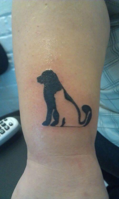 Dog Amp Cat Silhouette Tattoos Cat Tattoo Designs Tattoos