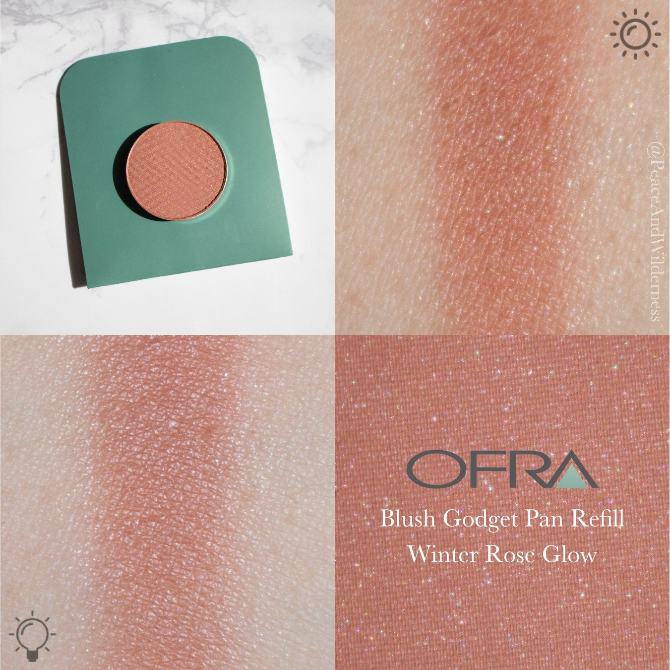BOXYCHARM ⋆February 2018⋆ Ofra Cosmetics Pop-Up Palette with Blush ...