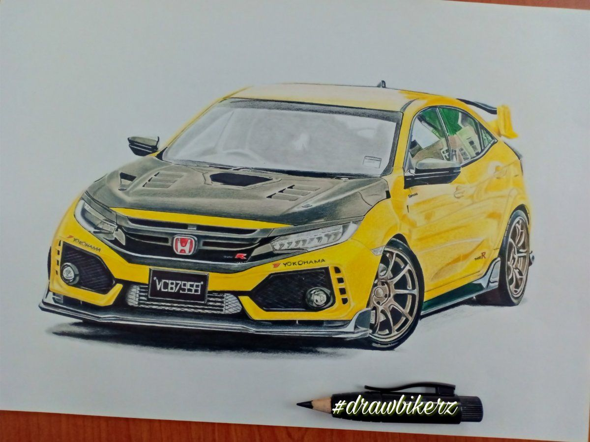 Honda Civic Fk8 Type R Honda Civic Honda Civic
