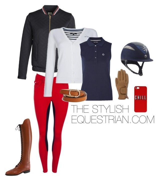 """""""Just chill"""" by rachel-reunis on Polyvore featuring Tory Sport, Karen Millen and Roeckl"""