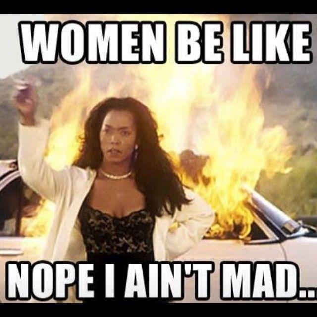 Funny Angry Wife Meme : Women be like nope i aint bad funny meme humor