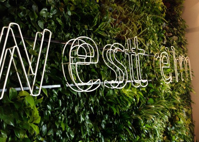 westelm-sign | Neon | Pinterest | Environmental graphics and Signage