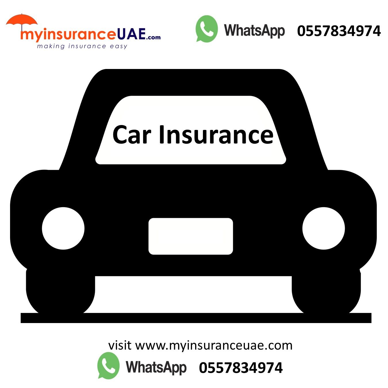 Visit the website www.myinsuranceuae.com or contact in ...