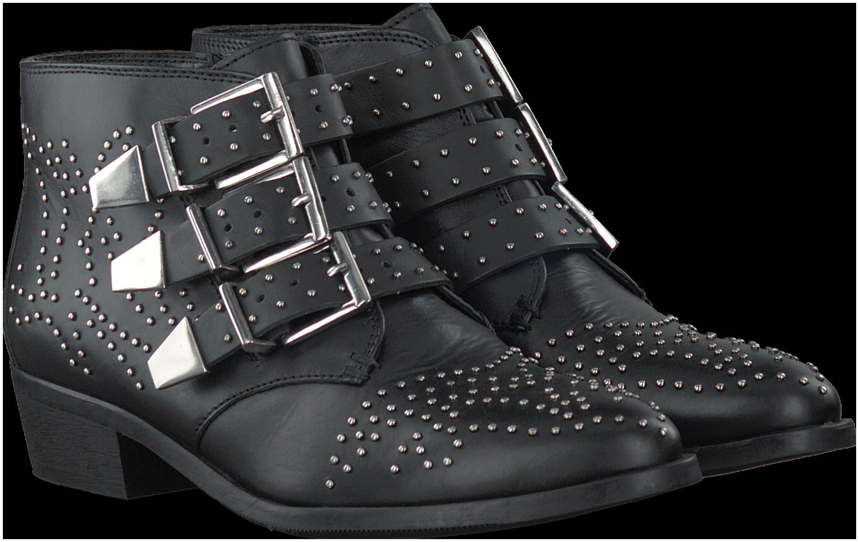 Black BRONX Booties 43771 - Omoda