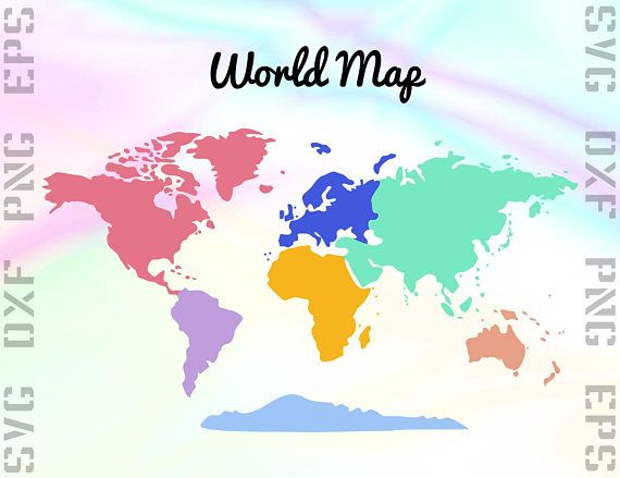 World map svg clipart world map dxf files map cut files for world map svg clipart world map dxf files map cut files for gumiabroncs Gallery