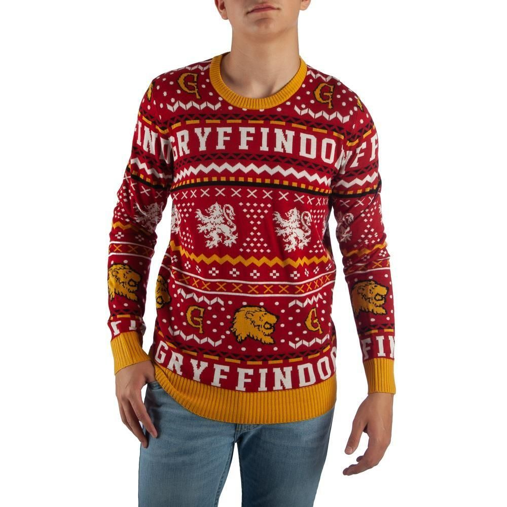 Gryffindor Knit Sweater in 2019   Harry potter sweater ...