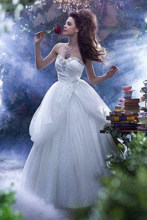 Belle   Disney wedding dresses, Disney weddings and Wedding dress