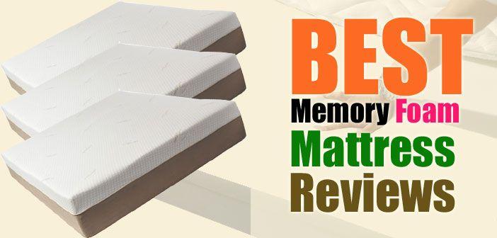 10 Best Memory Foam Mattresses Reviews Memory Foam Mattress