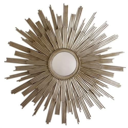 Arteriors Galaxy Star Iron Mirror... cute but way too expensive.  I need something similar and not $708.