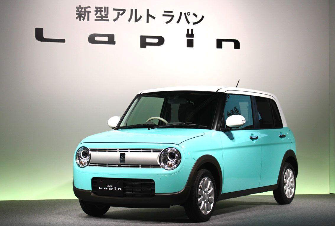 スズキ 新型アルト ラパンを発売 Autocar Japan かわいい車 スズキ 乗用車
