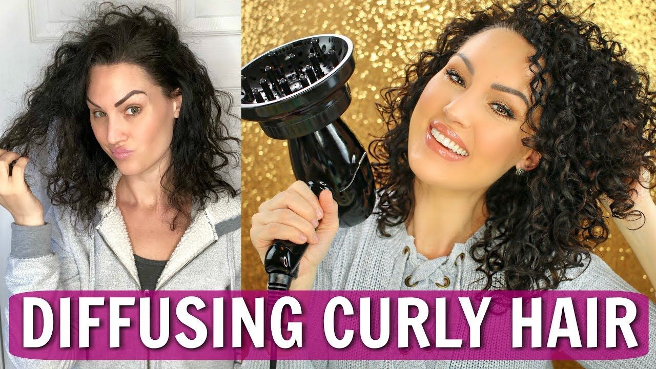 How to Diffuse Curly Hair Onyx Professional Hair Dryer