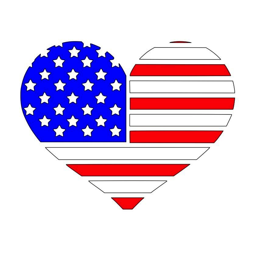 5a3addb8b7d Cricut Design · Svg File · American Flag · Heart-Flag-SVG.jpg 864×864  pixels Silhouette Files