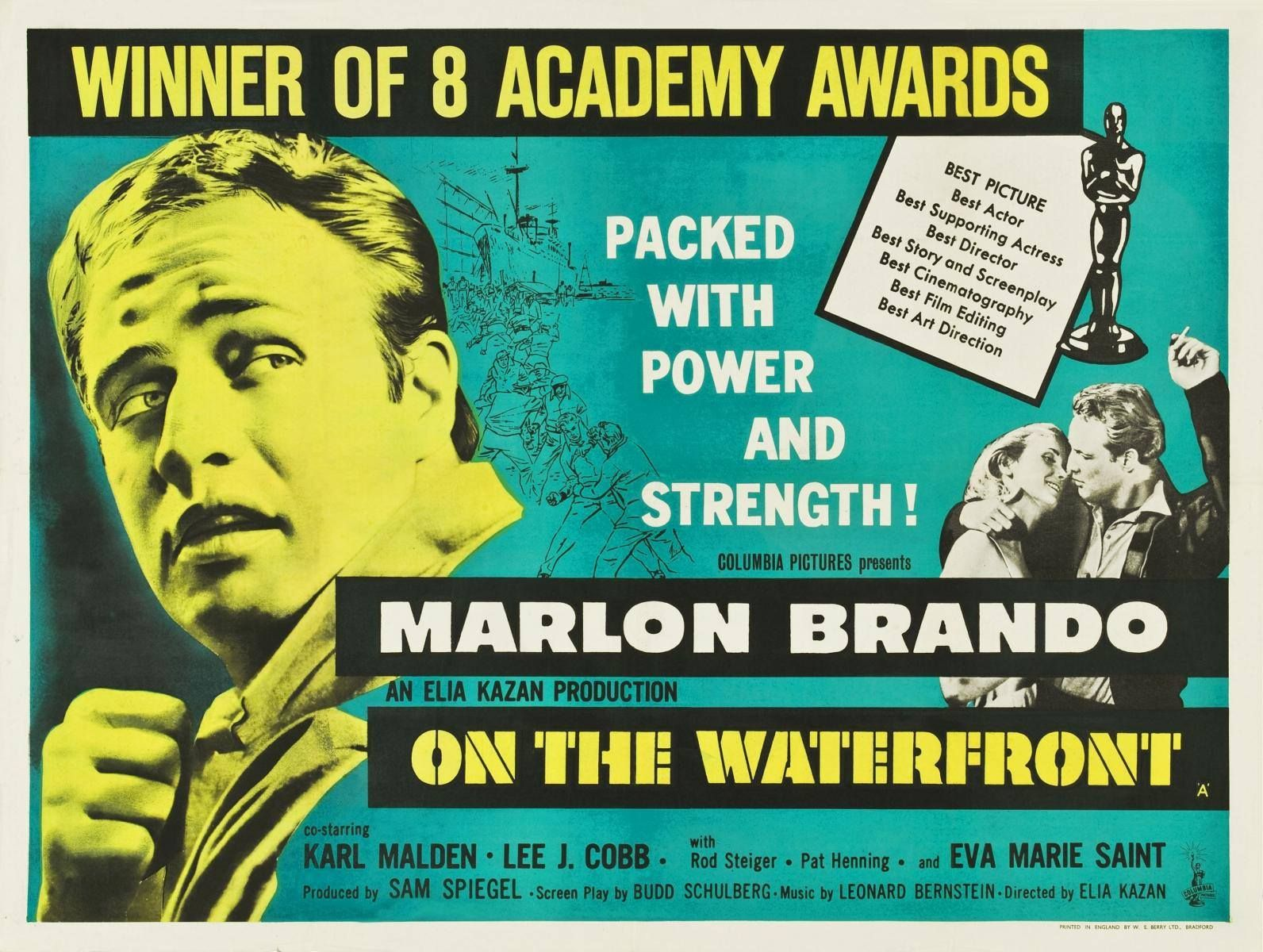 Marlon Brando — with Marlon Brando, Eva Marie Saint and Lee J. Cobb ...