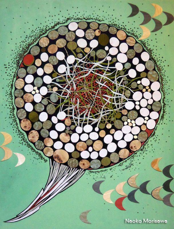 Another piece by Naoko Morisawa, titled Flying Mushroom, a participating artist in this year's Marathon. http://www.naokomorisawa.artspan.com/