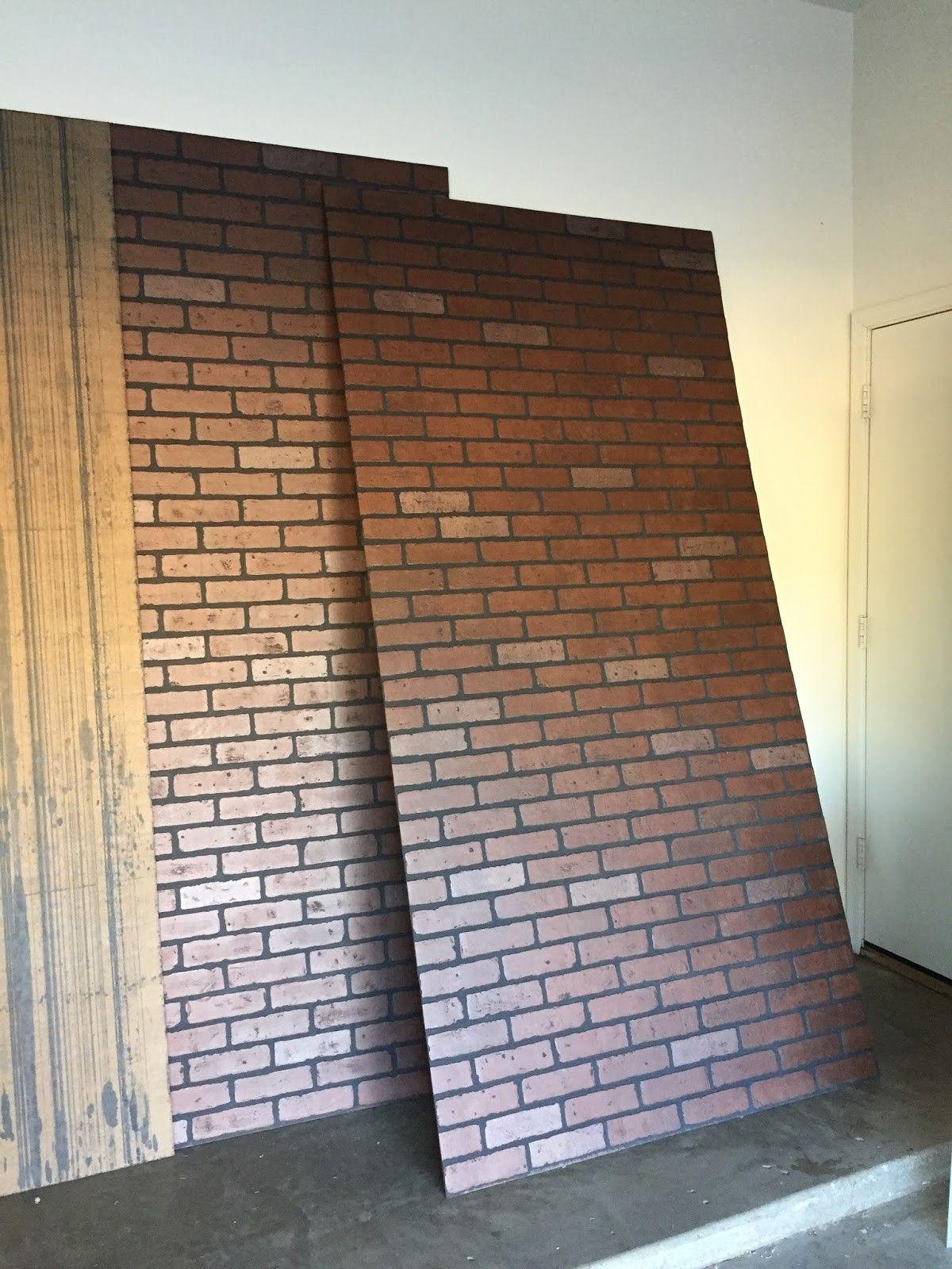 Inspirational Faux Brick Wall Home Depot Canada Dinding Bata