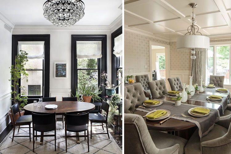 Tipos de mesas de comedor en la decoración | comedores pequeños y ...