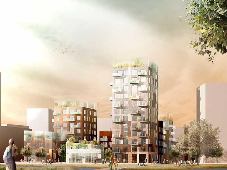 Årstafältet - boliger i Stockholm  C.F. Møller